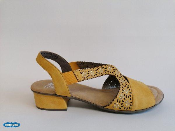 Rieker keltainen sandaali